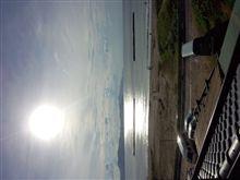 夏のような日本海?