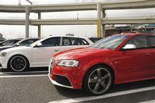 Audi大黒オフ参加'12.09