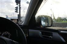 雨上がりの早朝ドライブ