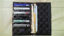 またまた 出来ました 二つ折り 長財布 モノグラム レザー 生地で 作って見ました