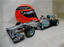 1/18 Mercedes MGP W02 2011 (Minichamps)