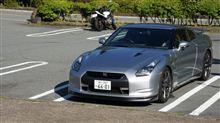 箱根でR35GT-R!