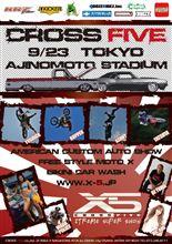 明日は『X-5(CROSS FIVE)vol.28 TOKYO』ですよー♪