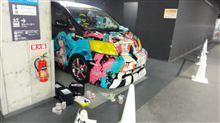8月14日撮影の車が化粧直しを・・・