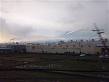 富士山、見えました