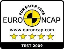クラッシュテスト EURO NCAP 五つ星