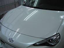 86 ボディガラスコーティング アークバリア21施工 愛知県豊田市 倉地塗装 KRC