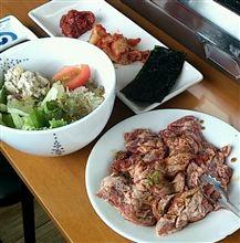 雑が好き。花咲きハラミ肉々しい!@豚とん亭