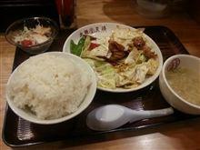 今日の夕食「大阪王将」