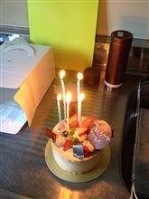 昨日誕生日やった(*^^*)