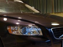 ボルボのコンパクト・スポーツワゴンV50のガラスコーティング【ラディアス茨城】