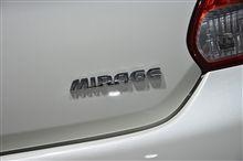 「三菱・ミラージュ(2013)」<欧州仕様車>/パリモーターショー2012