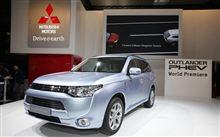 Mitsubishi Outlander PHEV World premiere Ⅲ : Paris Motor Show 2012 ・・・・