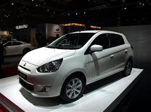 Mitsubishi Mirage European premiere : Paris Motor Show 2012 ・・・・