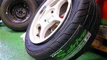 タイヤ交換&E/Gオイル交換