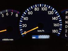 とうとう10万キロ(^ ^)