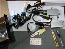206SWのHID化…ヘッドライトへの装着作業の結末は…(^^;)