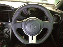 トヨタ・86&スバル・BRZ用オリジナルステアリング(試作)