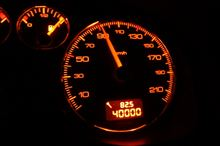 ついに40000キロ越え