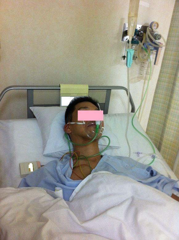 闘病 ブログ 入院