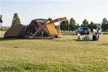 スノーピークキャンプフィールドでキャンプ!