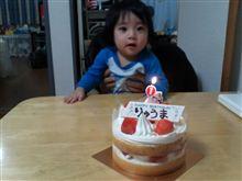 隆馬が一歳になりました(^-^)