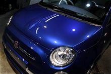 所有する者の心を満たすコンパクト・FIAT500のガラスコーティング【ラディアス湘南】