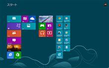 Windows8インストールしてみたけれど・・・