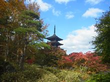 秋の定義山