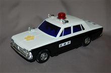 米澤玩具、フリクション走行、MS50クラウン トーキング パトカー