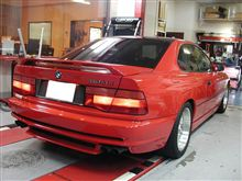 名車。。E31 BMW