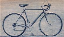 Hさんの自転車