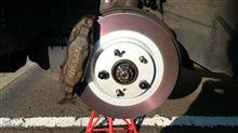 ブレーキ整備と吸気漏れ原因探し