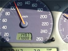 170,001km (汗)通過 12.10.27
