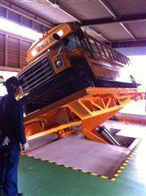 スクールバスの予備検