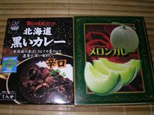 イカ墨カレー・・食す