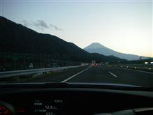 冬は富士山が綺麗です(^^♪