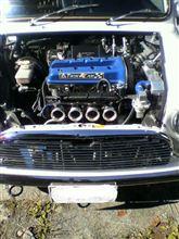 こんなエンジン見たことあります?