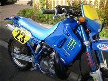 KDX200SR 納得いかないバイクは、採算無視で直しちゃう(苦笑)・・・これでいいのだ!?