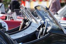 Ferrari木製モデラーとクラシックカーラリー