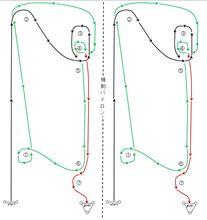 バトルジムカーナ2012 Rd.4 コース図