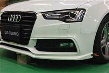 Audi A5 Sportback 後期(現行型) エアロ開発中!