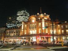 日展から夕暮れの東京駅へ