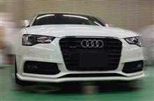 Audi A5 Sportback 後期(現行型) エアロ造形完了いたしました。