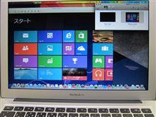 Windows8をMacで・・・