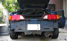 トランク水漏れ修理