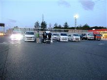 2012/11/17 草津SA 昭和村オフへの西組み見送り