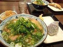 丸亀製麺で晩ご飯
