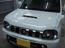 ジムニー ボディガラスコーティング アークバリア21施工 愛知県豊田市 倉地塗装 KRC