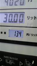 今時のガソリン価格